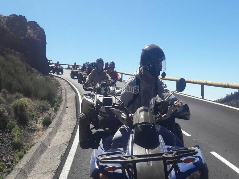 Tour por el Teide en quad