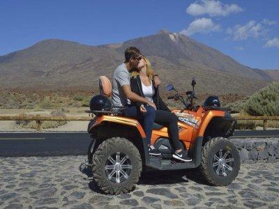 Recorrido en quad por el Teide Tenerife 4 horas