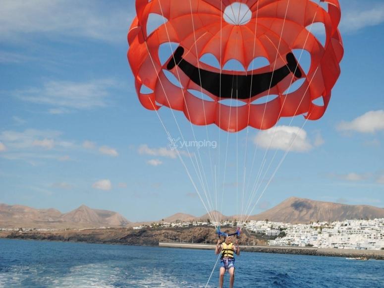 Vedrai l'isola di Lanzarote in un modo unico