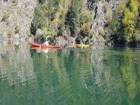 Wonderful spots in canoe