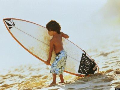 Surf camp infantil en Castrillón con alojamiento