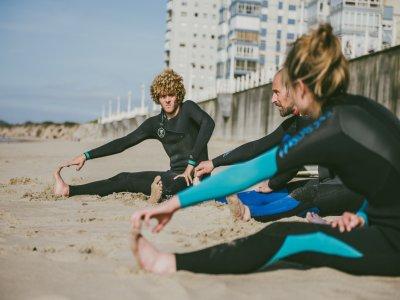 Lezioni private di surf a Castrillón 2 ore