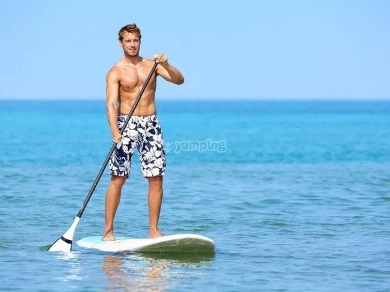 Godersi un giro in paddle surf