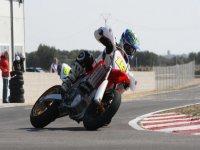 Conducción deportiva de motos