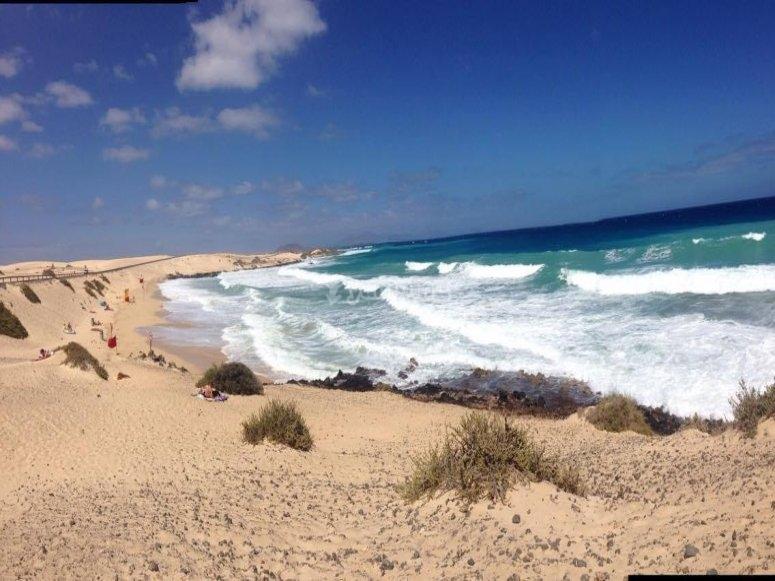 The paradisiacal beaches of Fuerteventura