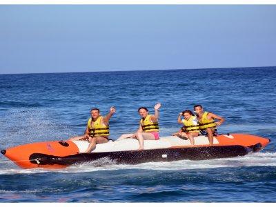 Banana boat en Morro Jable Fuerteventura 15 min