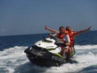 Accelerating the jet ski in the Atlantic