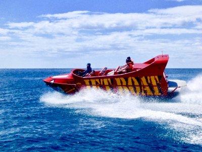 Banana Jet Boat y Crazy Ufo en costa de Jandía