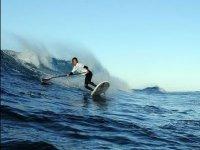 ¡Saca tu remo y a surfear!