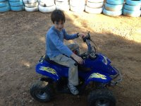 Excursiones en quad para niños
