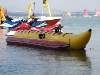 Banana boat in La Manga