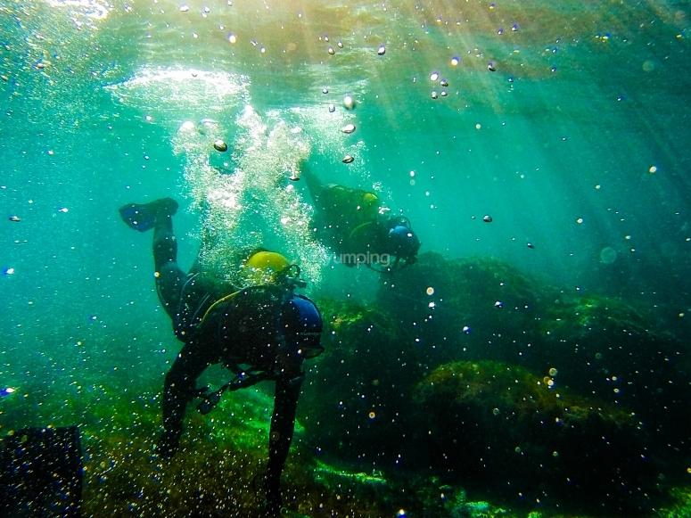 在塔里法潜水