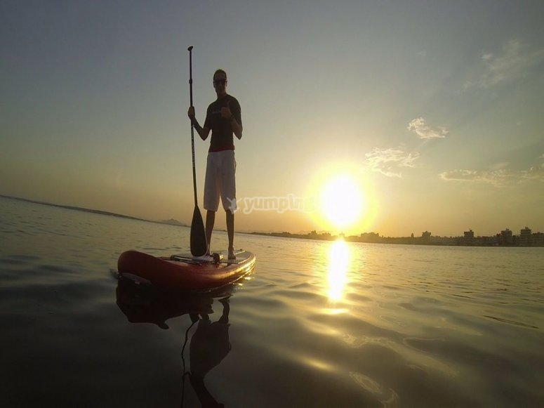 Enjoy SUP in the Mediterranean Sea