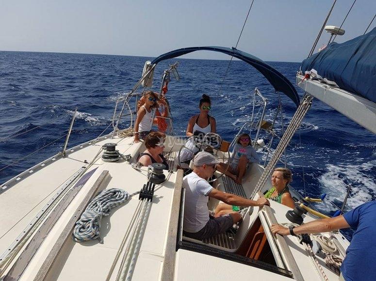 Experiencia en barco