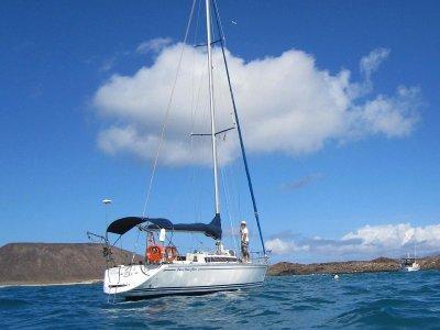 Travesía en velero desde Puerto del Carmen 2 horas