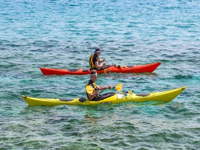 2-Hour Kayak Route Through Sitges Coast