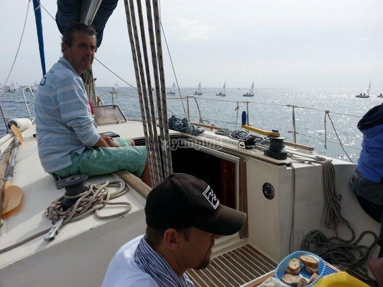 Relajados a bordo