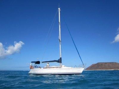 Salida en velero en Lanzarote en exclusiva 2 horas