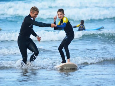 Surf Camp for Children, Berria Beach