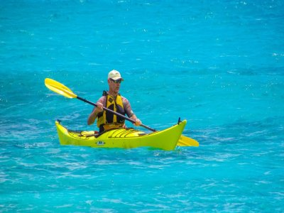 Alquilar un kayak biplaza en Mojácar por horas