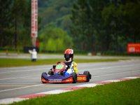 Kart in the circuit