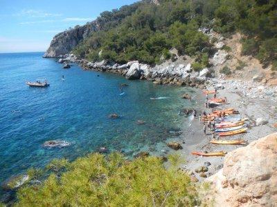 Ruta paddle surf a cueva de las Palomas niños 2h