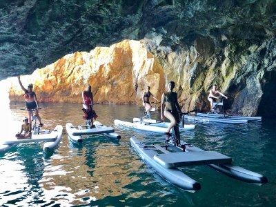 穿越水上自行车到Cantarriján海滩2小时30分钟