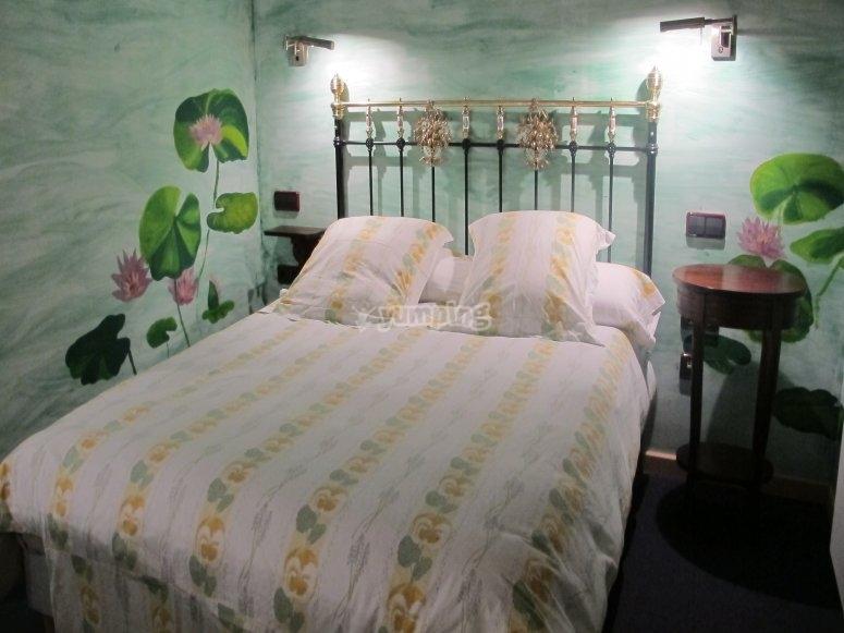 Noche de alojamiento en habitación doble