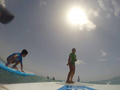 Excursión paddle surf de La Herradura a Maro niños
