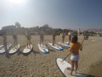 Paseo de paddle surf de Nerja a Maro niños 1 hora
