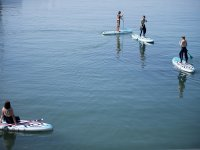 SUP route in Gijón