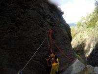 Aprendizaje de maniobras con cuerda