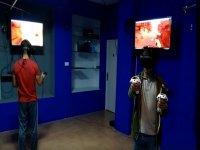jugando realidad virtual