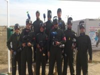 equipo paintball