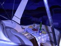 Pelayos de la Presa 2h船上的晚餐
