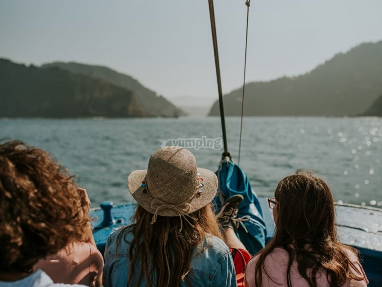 Navegando desde San Sebastián