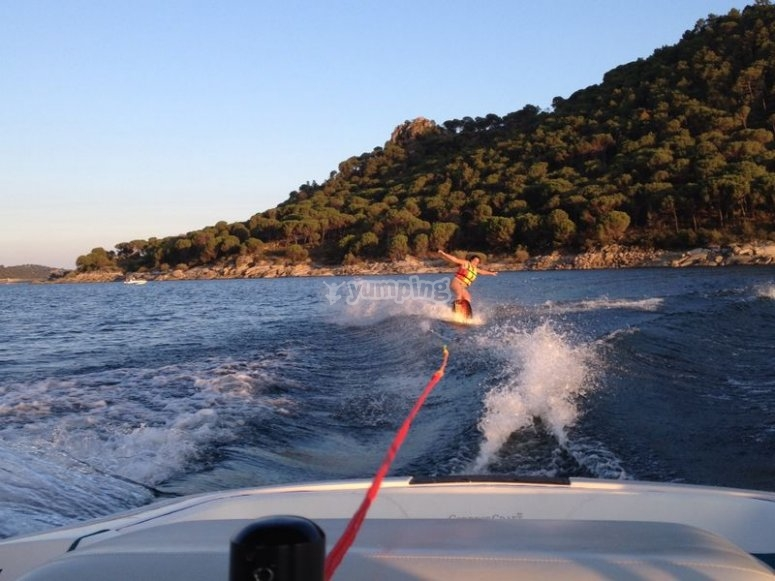 Arrastre de wakeboard