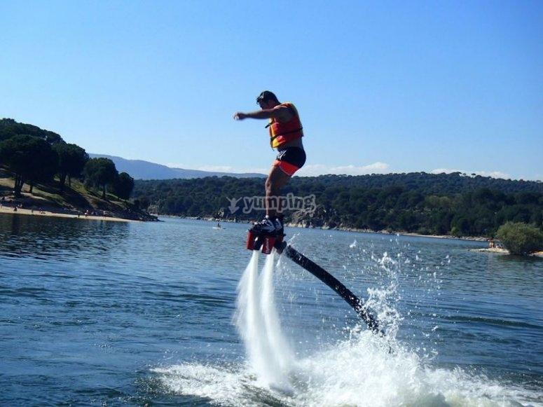 Elevacion de flyboard
