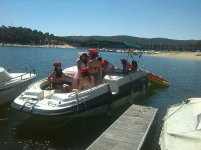 Motorboat Trip, Wake,Water Ski & Banana San Juan