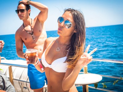 Ibiza's Boat Party Open Bar & Trip to Formentera