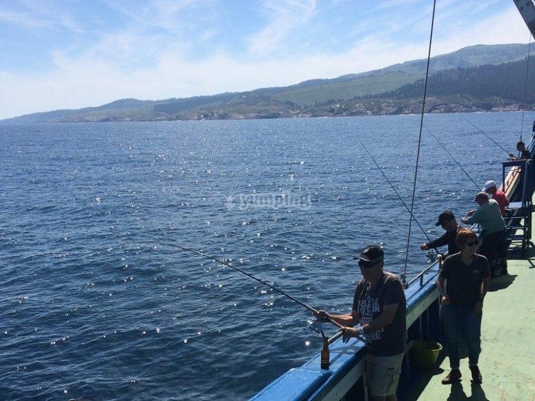 Grupo de pescadores