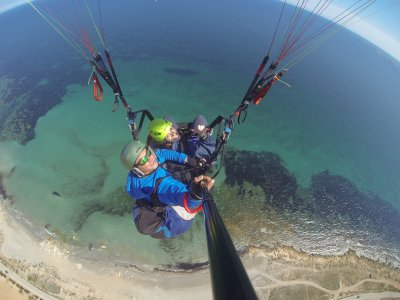 20-Minute Two-Seater Paraglide at Santa Pola