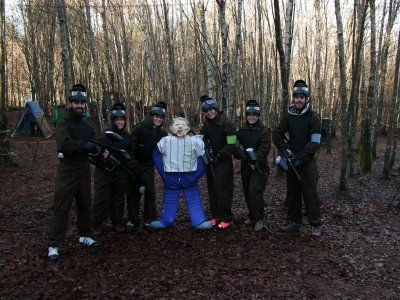 Paintball with Accommodation in Feás, Full-Board
