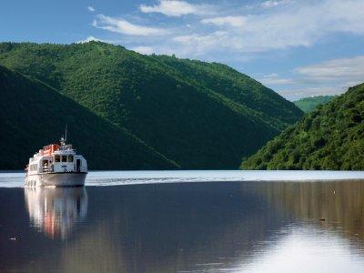 Paso en barco por Río Tajo de Cecillo a Herrera 2h