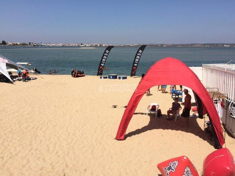 风筝冲浪区