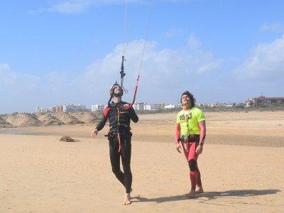 Curso de kitesurf en Isla Cristina temp alta 9h