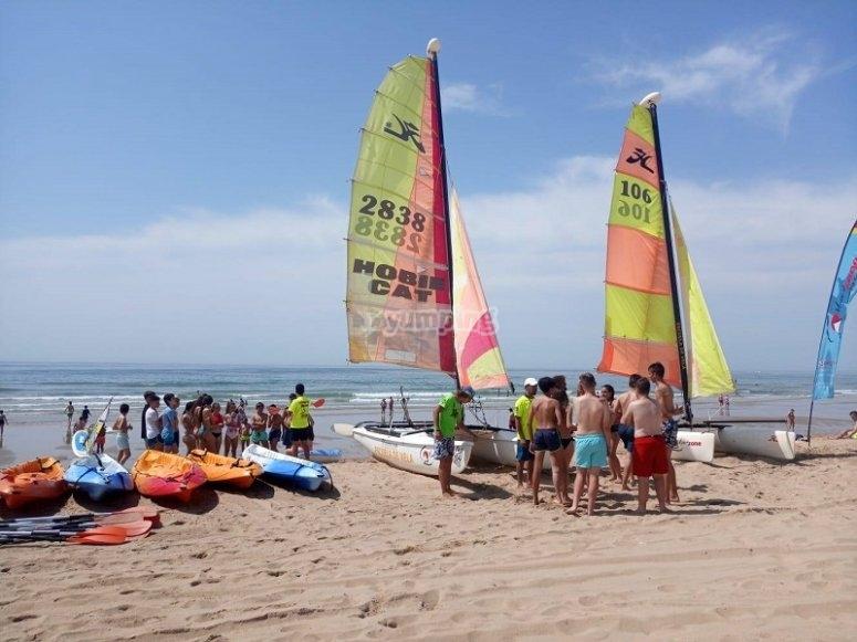 Equipos de actividades nauticas