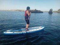 sup en Playa Torre la Sal, Cabanes