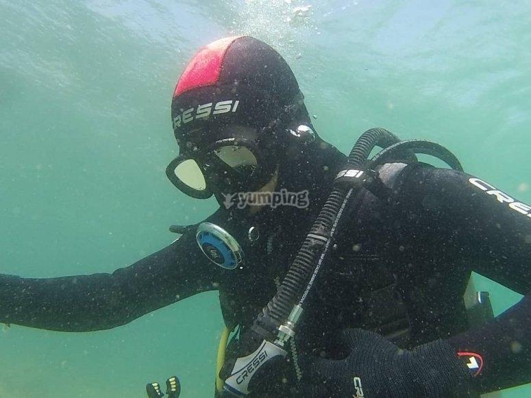 在塔里法潜水照片