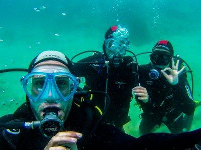 塔里法PADI开放水域潜水员课程为期4天
